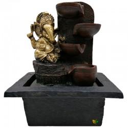 CRYSTAL SALT LAMP CUADRADA NEGRA